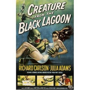 Creature From The Black Lagoon Movie Poster Print