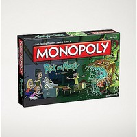 Rick and Morty Monopoly Board Game - Spencer's