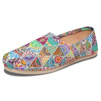 Bohemian Pattern Casual Shoes