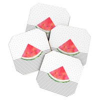 Elisabeth Fredriksson Pretty Watermelon Coaster Set
