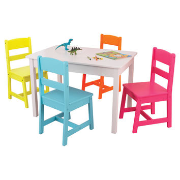 You should see this Highlighter Kids 5 Piece Table & Chair Set on Daily Sales!