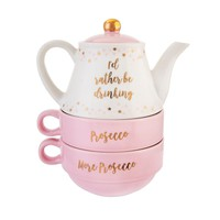 I'd Rather Be Drinking Prosecco Teapot