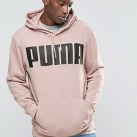 Pink | Puma Oversized Hoody In Dusty Pink Exclusive To ASOS at ASOS