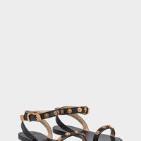 Versace Medusa Stud Tribute Sandals for Women | US Online Store