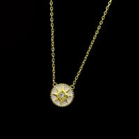 BeadyBoutique Lucky Star Jewelry Collection Necklace - White