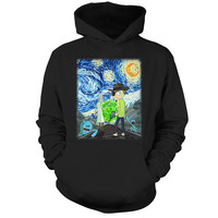 Rick And Morty - Van gogh - Unisex Hoodie T Shirt - SSID2016
