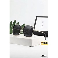 GUCCI 2018 new street fashion UV protection polarized sunglasses for men and women #4
