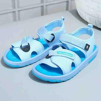 New Balance Summer fashion new bandage sandals women Sky blue