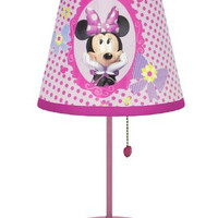 Disney Minnie Mouse Bow-tique Table Lamp
