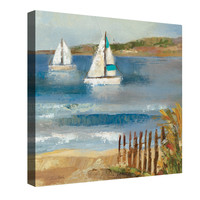 Sunny Beach II Canvas Wall Art