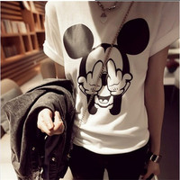Mickey Mouse fingers T Shirt