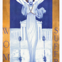 Woman Suffrage Giclee Print by Evelyn Rumsey Cary at Art.com