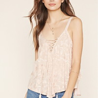 Contemporary Lace-Up Top | Forever 21 - 2000152803
