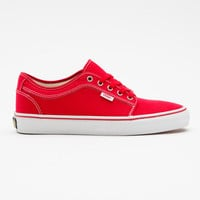 Vans Chukka Low Mens Shoes Red/Khaki/White  In Sizes