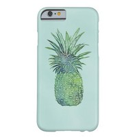 Watercolor Pineapple Barely There iPhone 6 Case