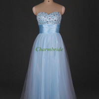 cheap long prom dresses with sequins and crystals discount beaded sweetheart evening dress elegant gowns for party hot holiday dress