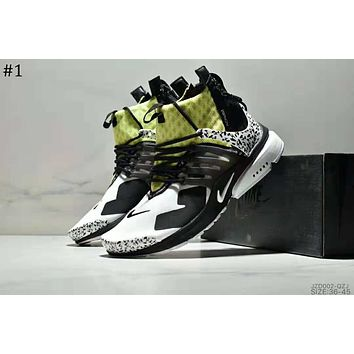 Nike Air Presto Mid x ACRONYM Joint model high-top zipper running shoes #1