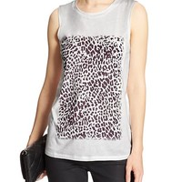 Banana Republic Womens Factory Print Pocket Tank