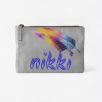 Feathers purse