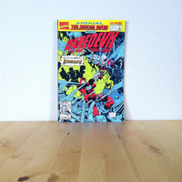 Daredevil Annual, The System Bytes Part 2, The Man Without Fear! No. 8 {1992} Vintage Graphic Novel