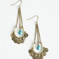 Boho Craft Fairest of Them All Earrings by ModCloth