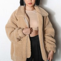 Pre-Order Pixie Coat - Caramel (shipping end June)