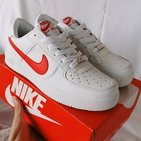 NIKE AIR force 1 AF 1 hot sale classic color matching couple sneakers sports shoes