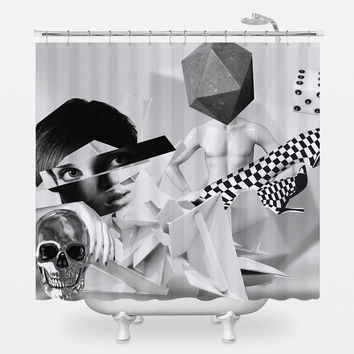 Roll Shower Curtain
