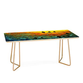 Madart Inc. Birds Of A Feather Coffee Table
