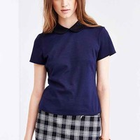 Coincidence & Chance Open-Back Collared Top