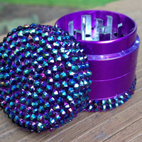 GRINDER -- MINIS Collection -- Iridescent Blue/Black