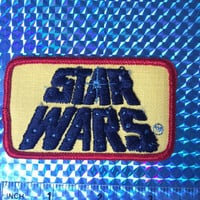 1977 Star Wars Patch! Brand New! Great Condition! RARE! Pyramid Logo! Jedi! Embroidered Iron On! Vintage Retro Great Gift
