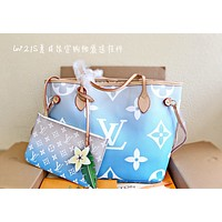 Louis Vuitton LV Newest Popular Women Leather Handbag Tote Crossbody Shoulder Bag Satchel 0415