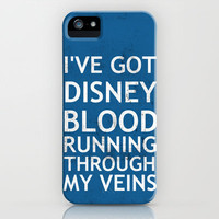 Disney Blood iPhone Case by Chase Shields   Society6