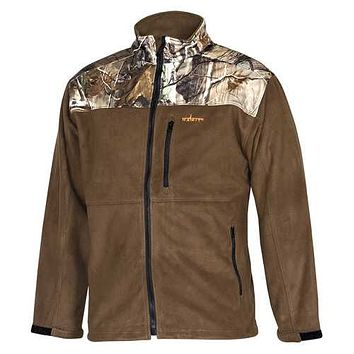 Habit Realtree Camo Fleece Softshell Windproof Jacket Large