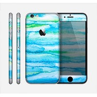 The Abstract Oil Painting Lines Skin for the Apple iPhone 6