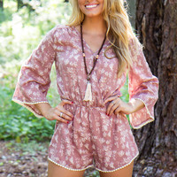 Autumn Rose Romper