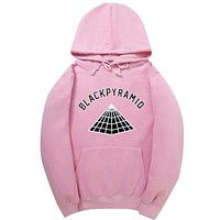 Newest Chris Brown BLACK PYRAMID Hip Hop Hoodies Men And Women Sweatshirts Skateboard Street Style Cotton Tracksuit Hoodie