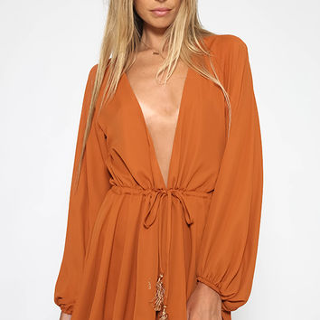 Listette Playsuit - Rust