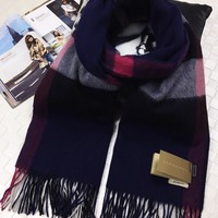 2017 autumn and winter Burberry classic large shawl scarf