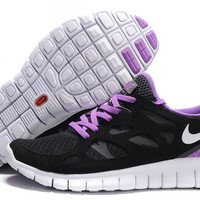 """Nike Free Run +2.0"" Women Sport Casual Multicolor Barefoot Sneakers Running Shoes"