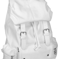 AM LandenBest Quality Synthetic Soft Leather Backpack School Bag