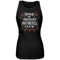 Sons of Anarchy - Motor Club Roses Juniors Tank Top
