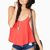 Wild And Free Tank - Red