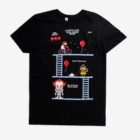 IT 8-Bit Game T-Shirt Hot Topic Exclusive