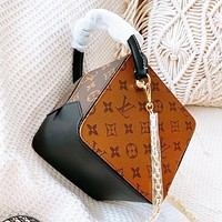 Louis Vuitton LV Hot Sale Women Leather Dice Bag Handbag Tote Crossbody Satchel Shoulder Bag