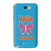 Sassy - Hello Gorgeous #10433 Full Wrap High Quality 3D Printed Case for Samsung Galaxy Note 2