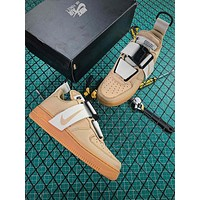 Nike Air Force 1 Low Utility Sport Running Shoes - Best Online Sale