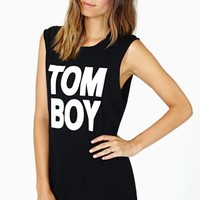 Tom Boy Muscle Tee