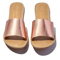 Cabana Slides - Rose Gold